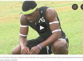 CBD Ends Football Player's Seizures, NCAA Breaks His Heart