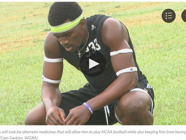 CBD Ends Football Player's Seizures, NCAA Breaks His Heart