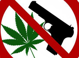 Guns and Cannabis are Hot Topics, Here's Where They Mix.