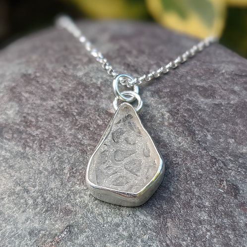 Turnchapel patterned Seaglass necklace