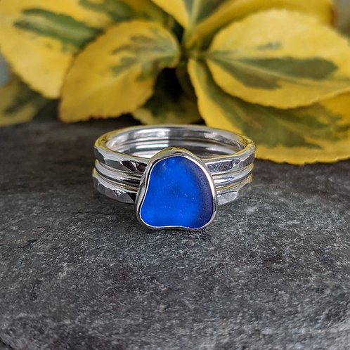 Pick your own seaglass - Seaglass Stacking Rings