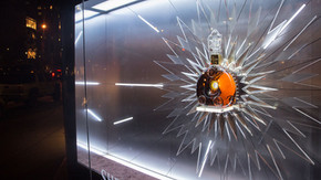 Louis XIII Sherry Lehmann Acrylic Starburst Commercial Window Display