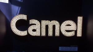 Camel Lighted Signage