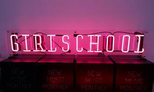 Girl School Neon Signage