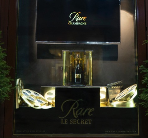 Piper-Heidsieck Rare Window Display