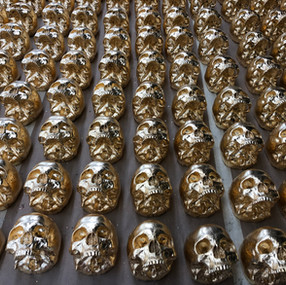 How we make the Gold Skull Walls