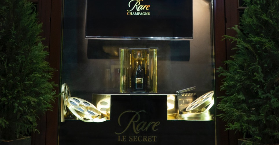 Piper-Heidsieck Rare Champagne Window Display