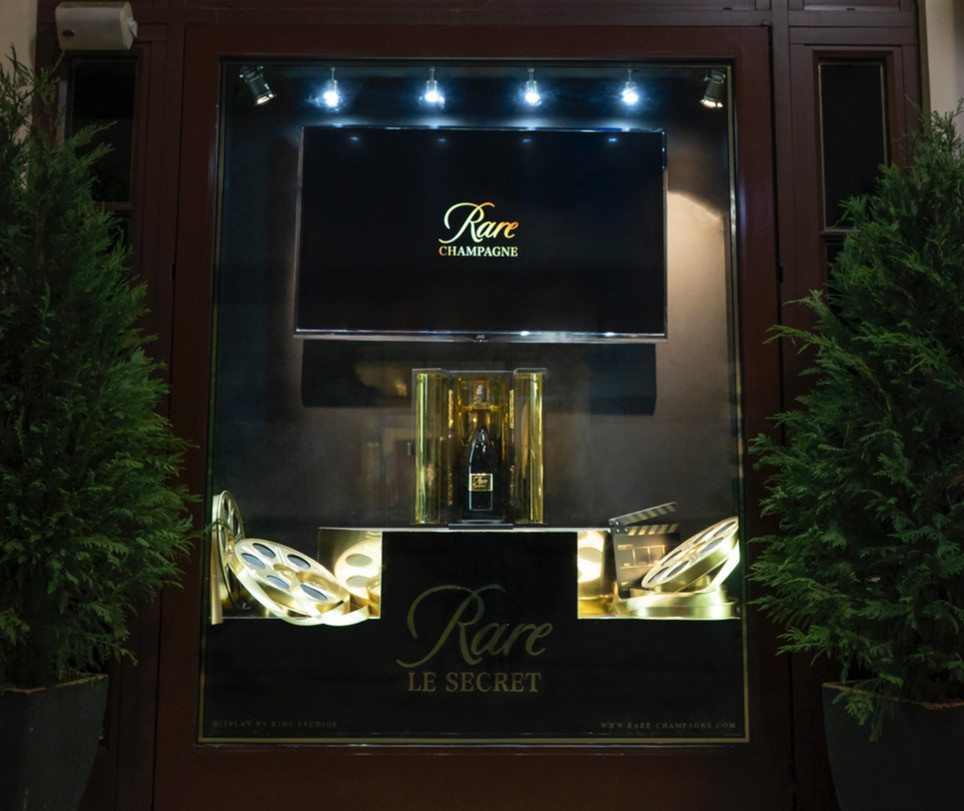 Piper-Heidsieck Rare Champagne Window Display