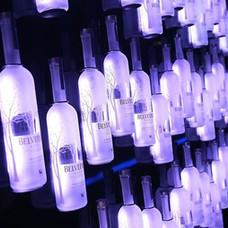 Belvedere Bottle Wall