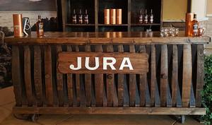 JURA Whiskey Event Custom Sign