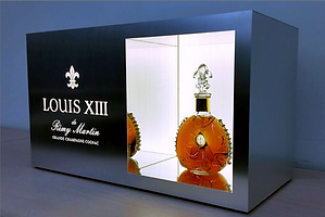 Louis XII Alcove Lighted Product Display Fabrication by Kihl Studios