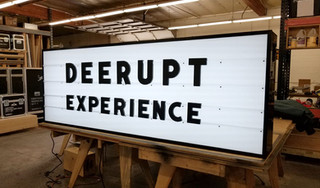 Adidas Derupt Event Sign Marquee