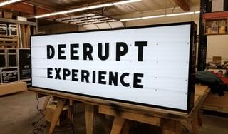 Adidas Derupt Event Sign Marquee