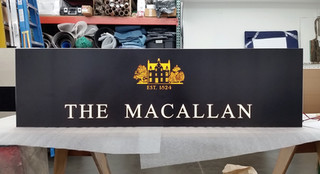 The Macallan LED Custom Signage