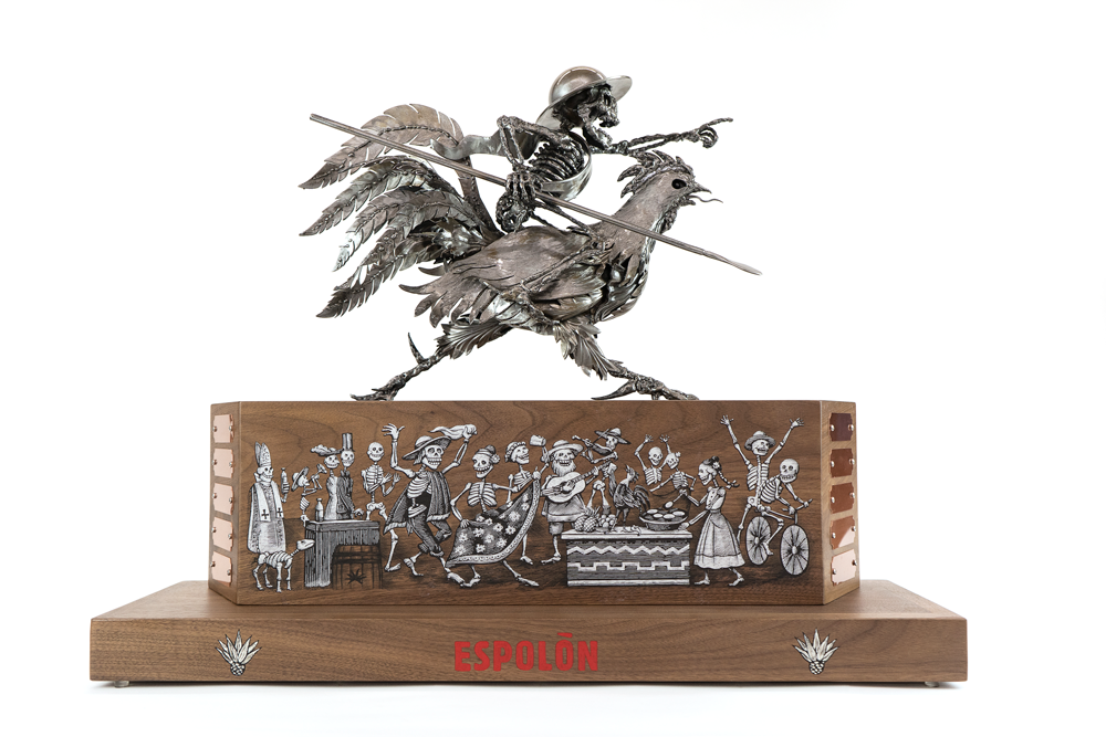 Espolon Custom Metal Award Sculpture