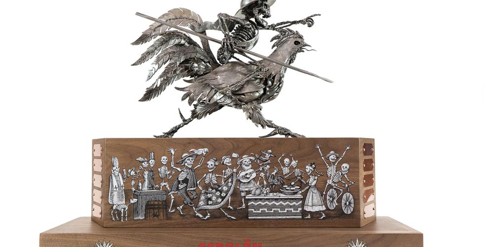 Espolon Custom Metal Award Sculpture