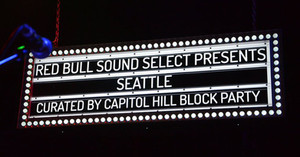 Red Bull Sound Select Marquee Sign