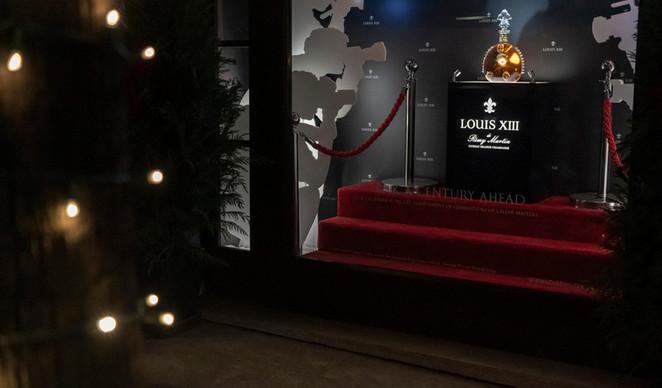 Louis XIII Paparazzi Window Commercial Display