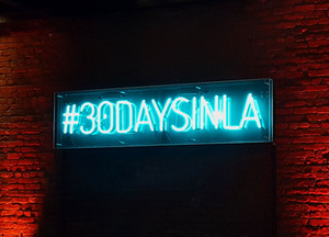 #30DAYSINLA Neon Sign