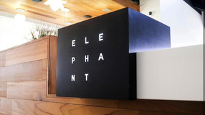 Elephant Custom Metal LED Sign