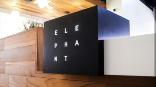 Elephant Custom Metal LED Sign