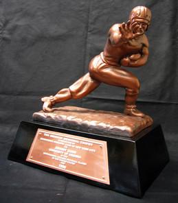Heisman Trophy Replica Prop