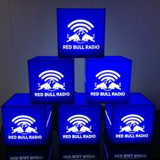 Red Bull Music Branded Light Cubes