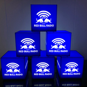 Red Bull Music Branded Light Cubes