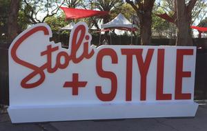 Stoli + Style Custom Signage
