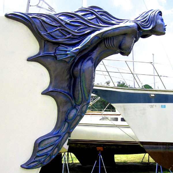 Mermaid Ship Custom Figurehead