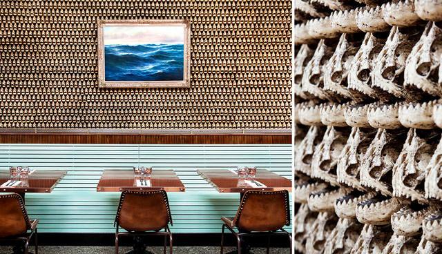 Ironside Fish & Oyster Restaurant Custom Decor
