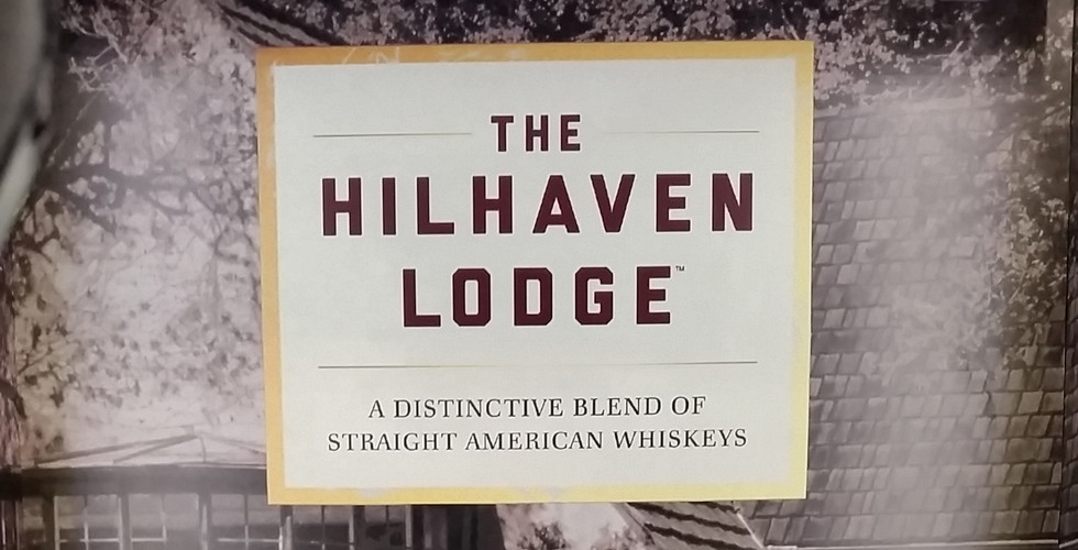 Hilhaven Lodge Whiskey Display