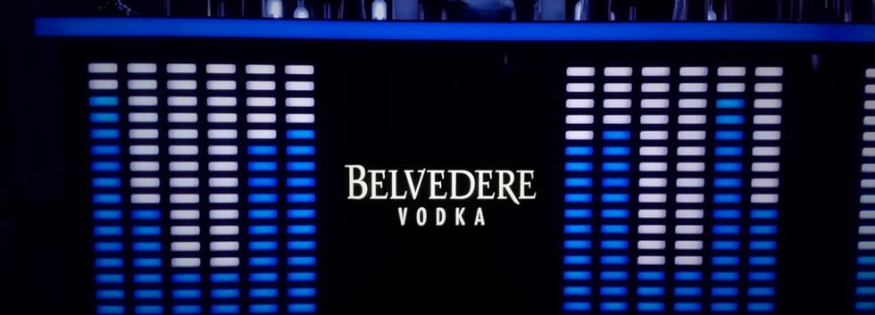 Belvedere Vodka Sound Reactive Equilizer bar and Bottle Wall.mp4