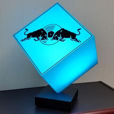 Red Bull Music Blue LED Cube