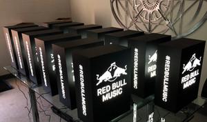 Red Bull Music LED Branded Light Box