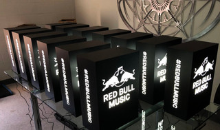 Red Bull Music LED Branded Light Box
