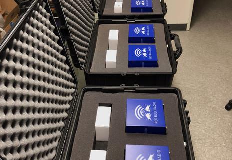 Red Bull Music Branded Light Boxes