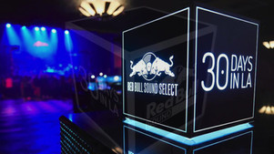 Red Bull Music 30 Days in LA Cube