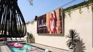 Lulus Poolside Custom Signage