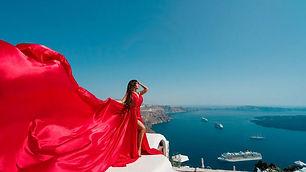 Santorinidress photoshoots