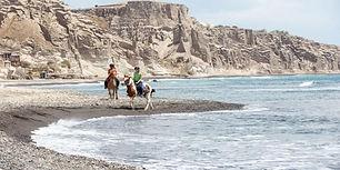 Horse Riding Experience in Santorini