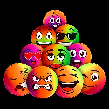 Rainbow Emoji Balls