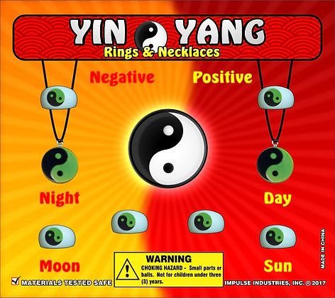 Ying Yang Rings & Necklaces