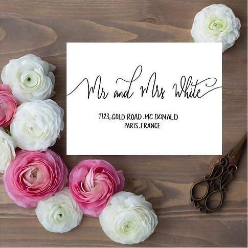 Wedding season is starting here in the U
