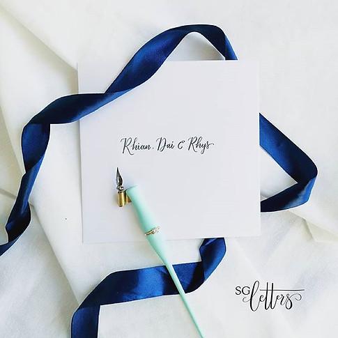 A handwritten #invitation is always well