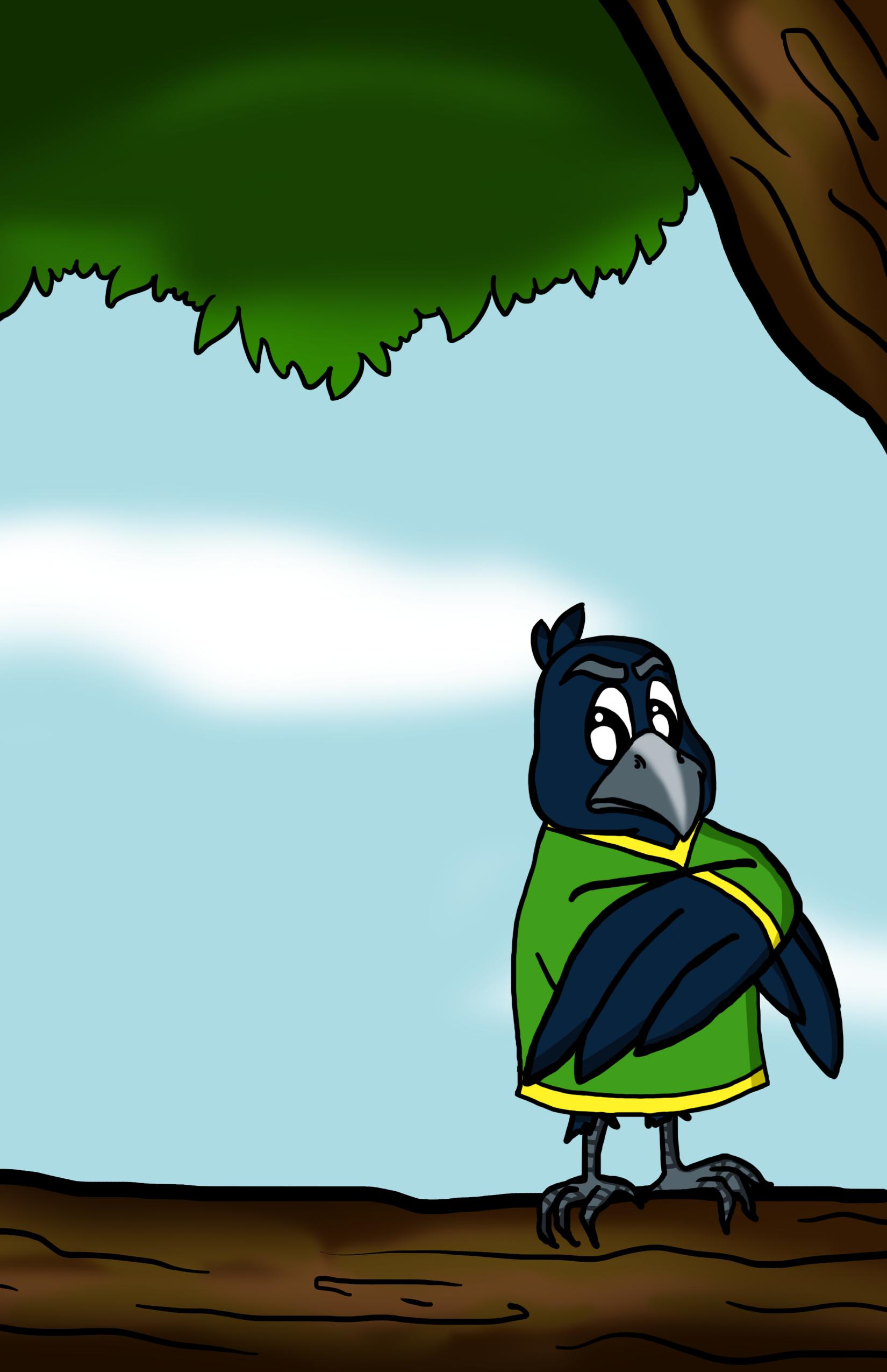 carte corbeau 9