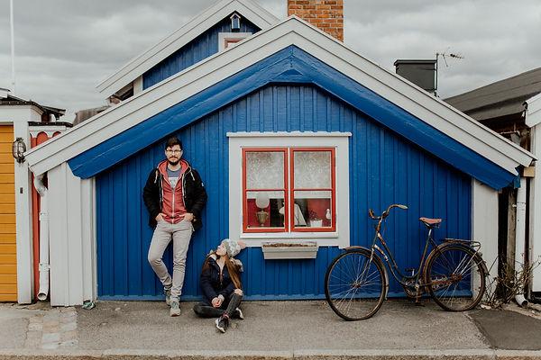 Karlskrona Szwecja Polska sesja fotograf