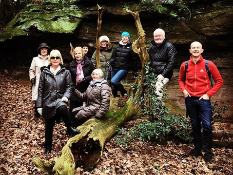 Strategy In The Roaches (UK) Team Building Event