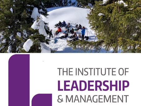 Institute of Leadership and Management approved!