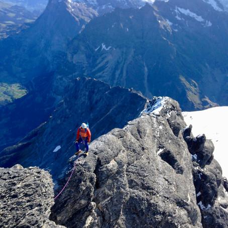 Climbing the Eiger